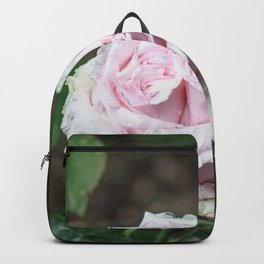 Rose twins with droplets Backpack