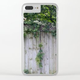 The Green Can Never Be Blocked Clear iPhone Case