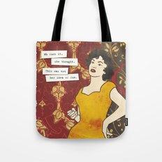 Bored girl Tote Bag