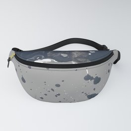 Inky Oil Cloud of Radiation Fanny Pack