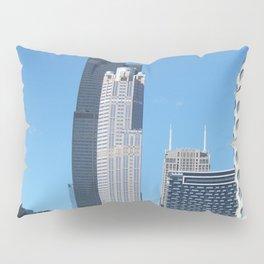 Chicago Historic Skyline Pillow Sham