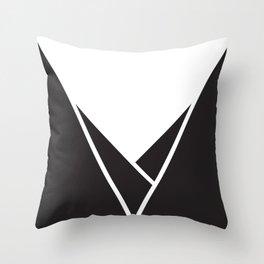 Mountainous Throw Pillow