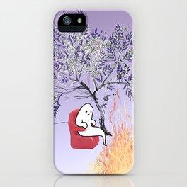 Ghostie's Retirement iPhone Case