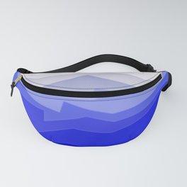 Chaos Sea Blue Fanny Pack