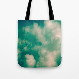 Clouds 01 Color Tote Bag