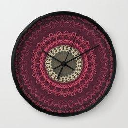 FineLine Mandala 13 Wall Clock