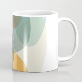 Cool Zen Abstract Organic Shapes Coffee Mug