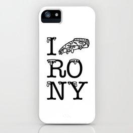 I RO NY iPhone Case