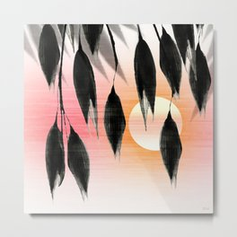 Beneath Shade, Sunglow Metal Print
