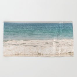 Beach Waves Beach Towel
