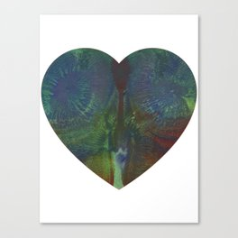 Glutenous Heart Canvas Print