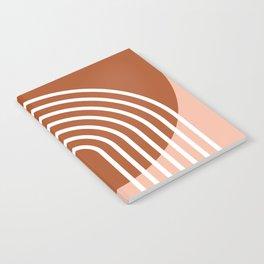 Mid Century Modern Geometric 2 Notebook