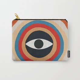 Third Eye Retro Colors Circle Carry-All Pouch