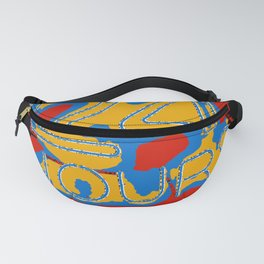 24 colourful hurs Fanny Pack