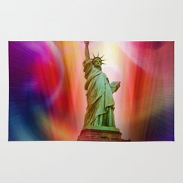 New York NYC - Statue of Liberty 2 Rug