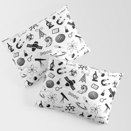 Symbols of Science Pillow Sham