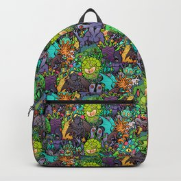 Lovecraft Chibi Bestiary II Crowded ver Backpack