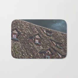 Roof of the Hotel oblique house Ulm Bath Mat