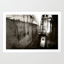 textile plant Art Print