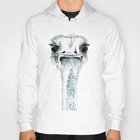 percy jackson Hoodies featuring Percy the Ostrich by Bridget Davidson