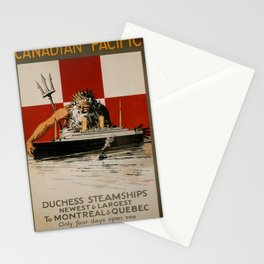 affiches Canadian Pacific Stationery Cards