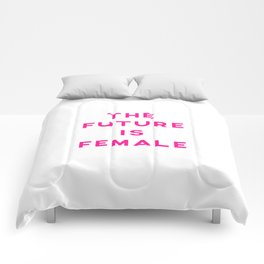 The Future Is Female Aesthetic Comforters