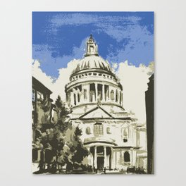 Saint Paul's Cathedral London Canvas Print