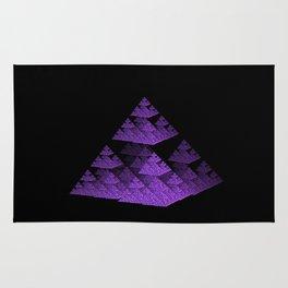 3D Fractal Pyramid Rug
