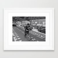 cycling Framed Art Prints featuring Cycling by Sebastiano Carbone