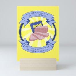 The Spam of Enlightenment Mini Art Print