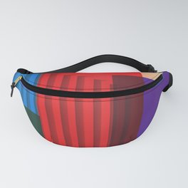 Distressed texture Fanny Pack