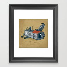 Fuck the System Framed Art Print