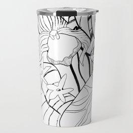 Orchid (Abstract) Travel Mug