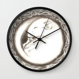 Geborgenheit Wall Clock