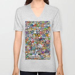 pokeman Unisex V-Neck