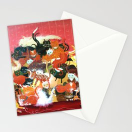 Huge Pile of Cats aka Pussy Galore in James Bond Goldfinger! Stationery Cards