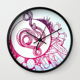 Snake Spirit Wall Clock