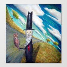 Meowhoo Canvas Print