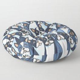 Many Boston Terriers Floor Pillow
