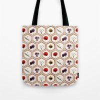 cookies Tote Bags featuring Cookies by Marta Li