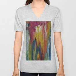 Abstract painting 112 Unisex V-Neck