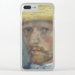 Portrait of Theo van Gogh Clear iPhone Case