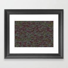 Code Master (Computer Science Nerd) Framed Art Print