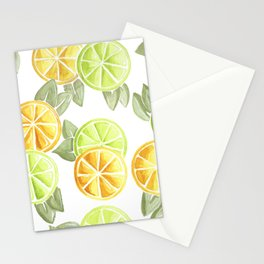 Limes & Lemons Stationery Cards