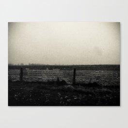 Desolation Fence 1 Canvas Print