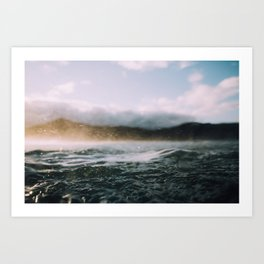 Dark Waves II Art Print