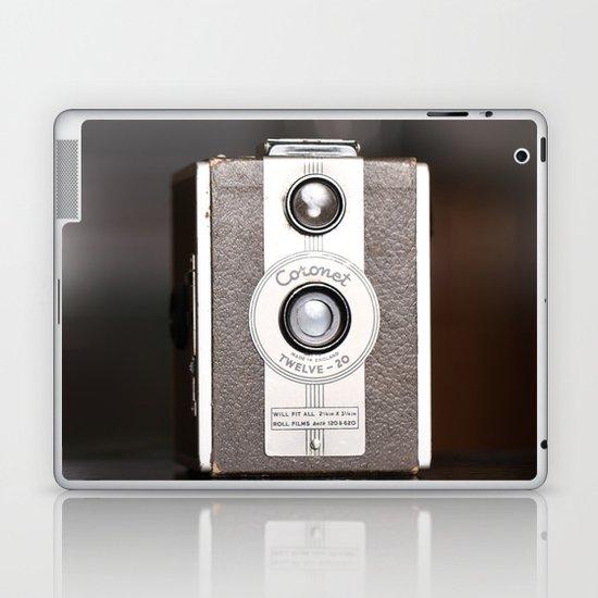 1950 Vintage Coronet twelve-20 twin lens box camera Laptop & iPad Skin