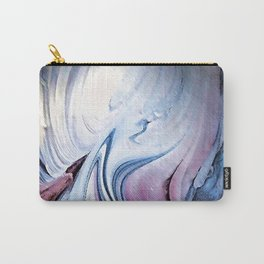 Tint Blot - Blue Stalagmites Carry-All Pouch