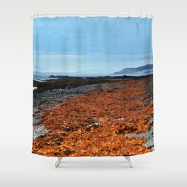 Seaweed Beach Shower Curtain