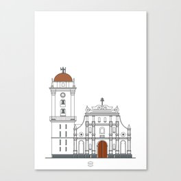 Catedral de Caracas Canvas Print